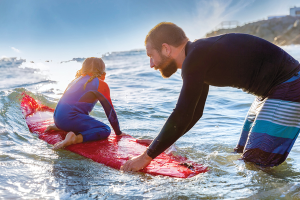 Sea, Water, Nature, Outdoors, Person, Sea Waves, Sport, Surfing, People, Shorts