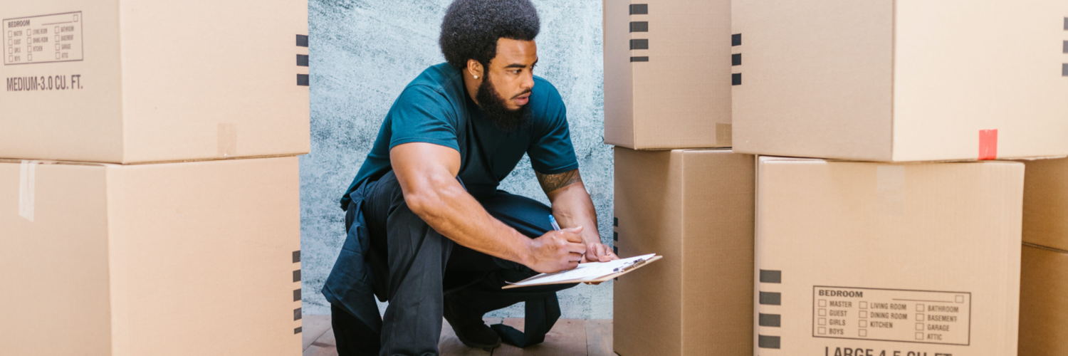 Person, Package Delivery, Cardboard, Box, Carton, Hair