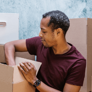 Person, Box, Cardboard, Package Delivery, Carton