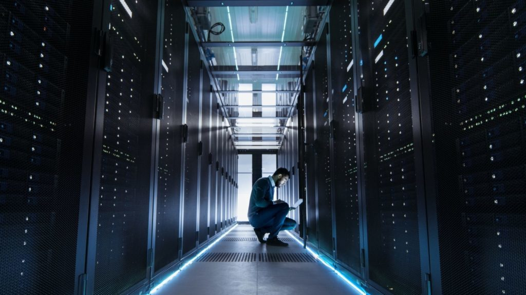 Server, Computer, Hardware, Electronics, Person