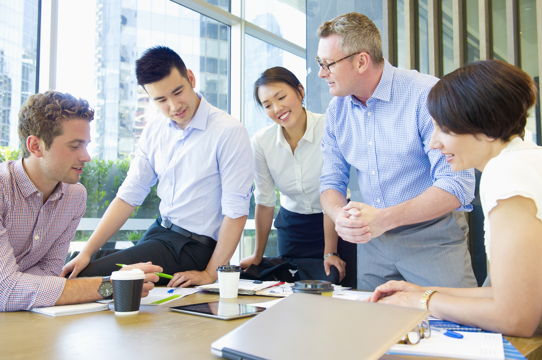 Person, Sitting, Indoors, Room, Meeting Room, School, Furniture, People, Table