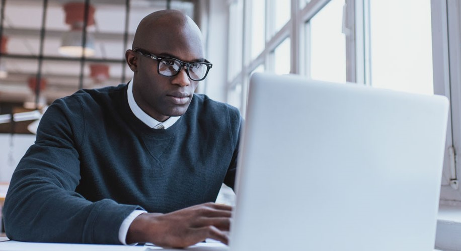 Person, Pc, Computer, Electronics, Sitting, Laptop, Glasses, Accessories, Accessory