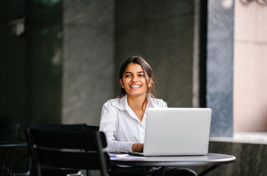 Sitting, Person, Laptop, Computer, Pc, Electronics, Female, Woman