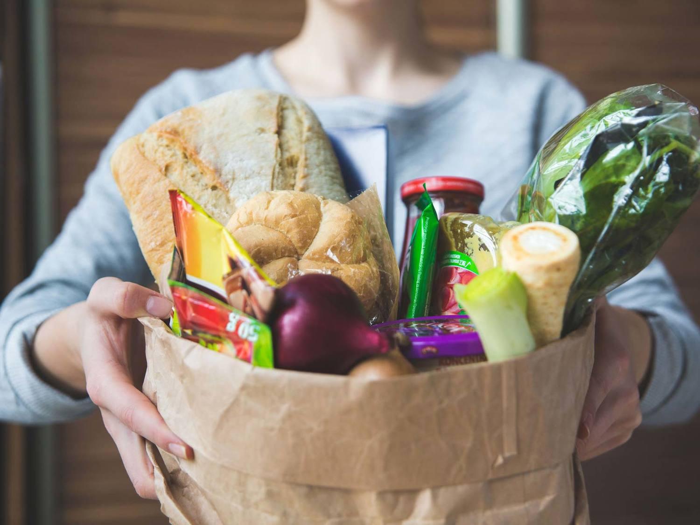 Bread, Food, Person, Bun