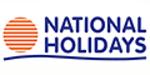 NationalHolidays.com promo codes