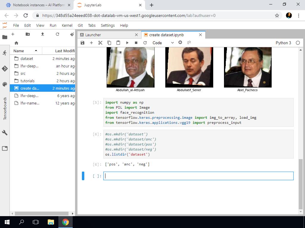Create Dataset Part 1