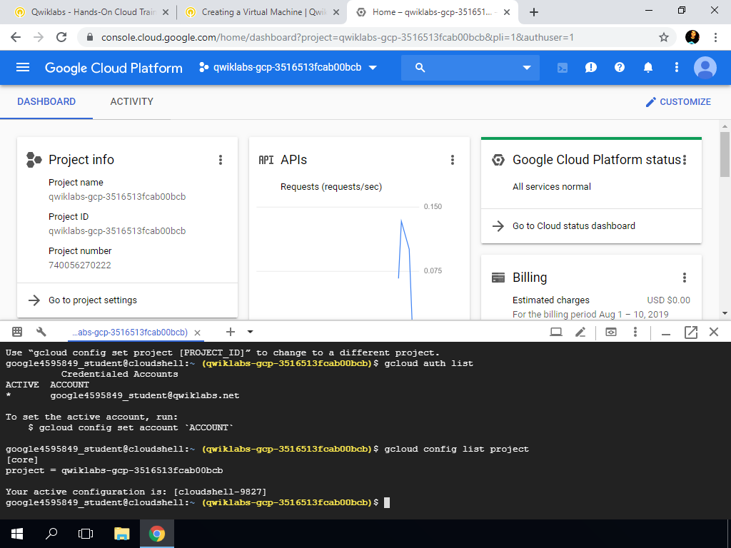 Create VM Instance from GCP Console