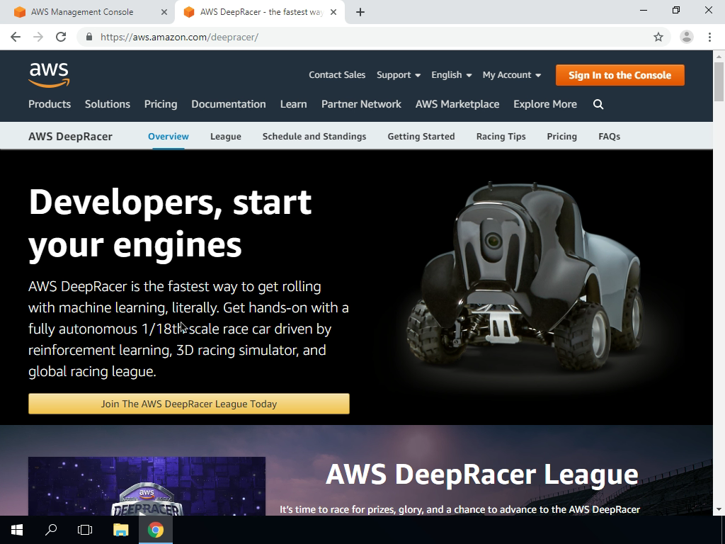 What is AWS DeepRacer