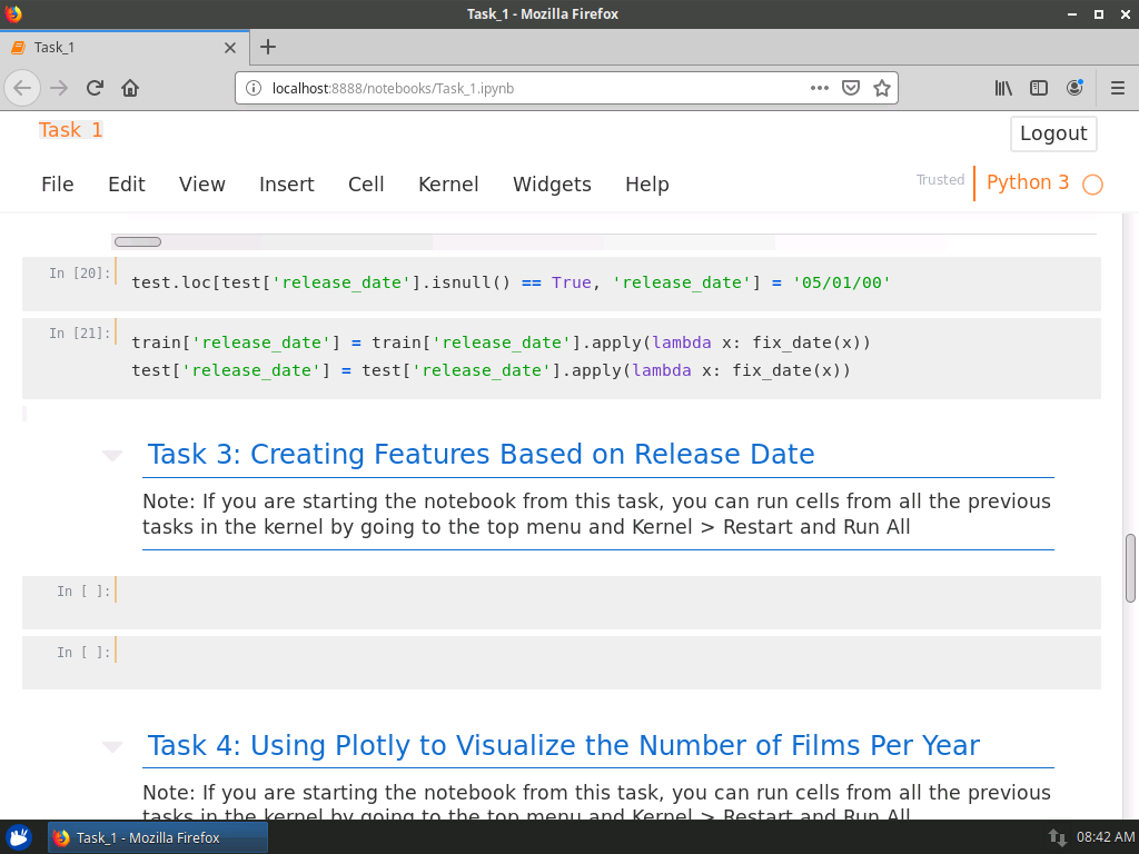 Create Features Based on Release Date