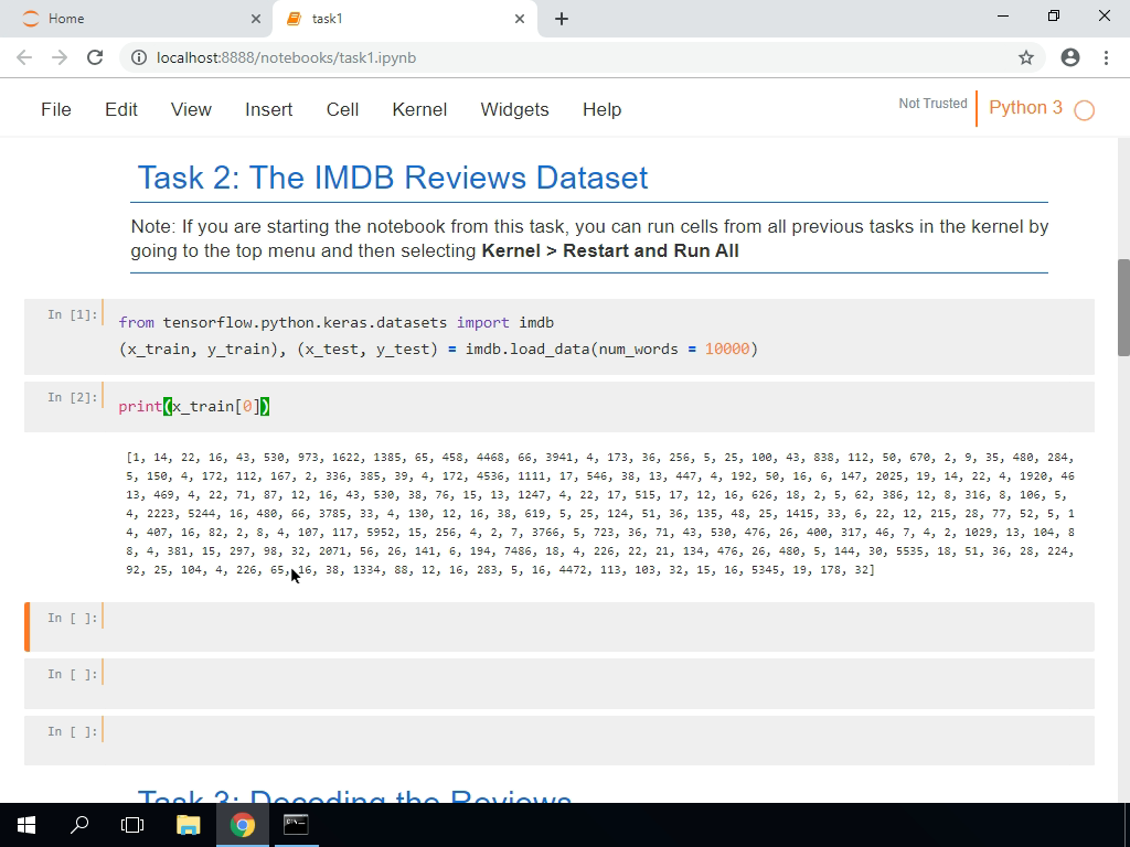 The IMDB Reviews Dataset