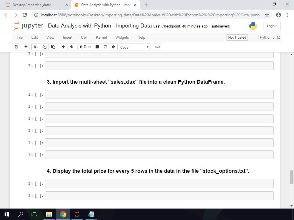 Python Xlsx