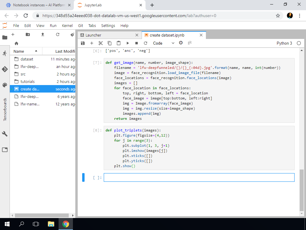 Create Dataset Part 2