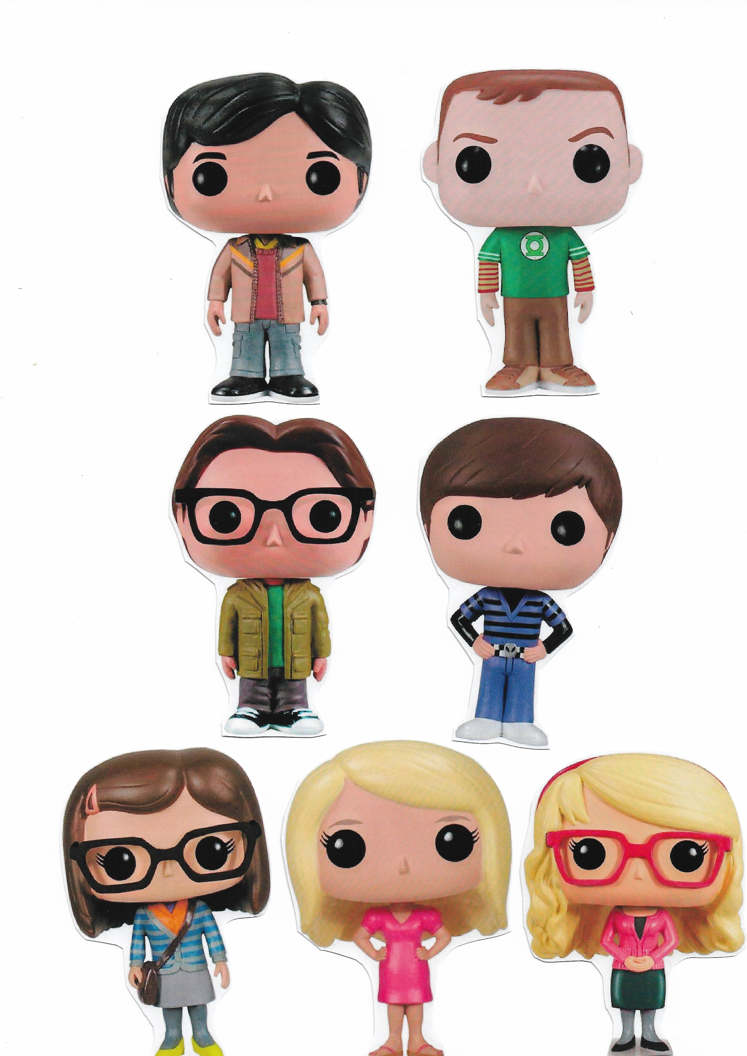 7 ímãs The Big Bang Theory TBBT