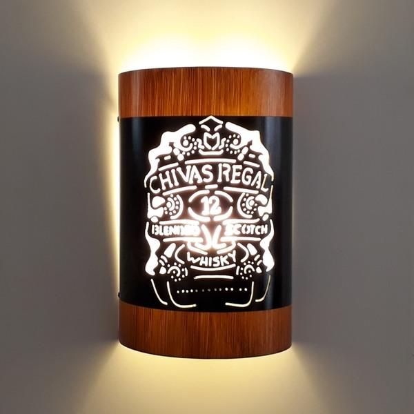 Abajur Luminária Arandela de parede Chivas Regal