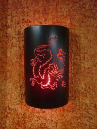 Abajur Luminária Arandela de parede Dragão Bivolt