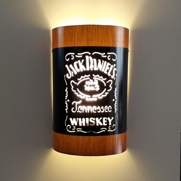 Abajur Luminária Arandela de parede Jack Daniels