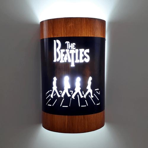 Abajur Luminária Arandela de parede The Beatles