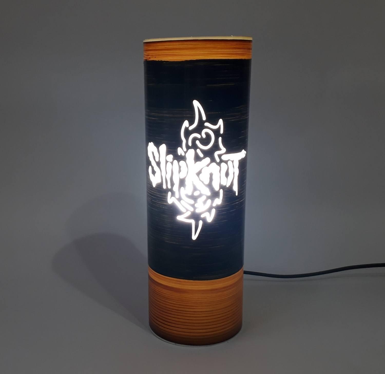 Abajur Luminária Bivolt Slipknot