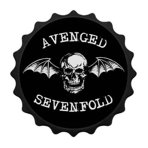 Abridor de garrafa com imã Avenged Sevenfold