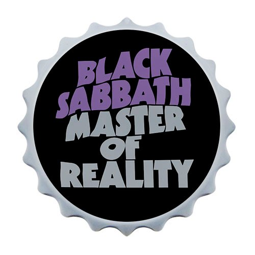 Abridor de garrafa com imã Black Sabbath Master of Reality