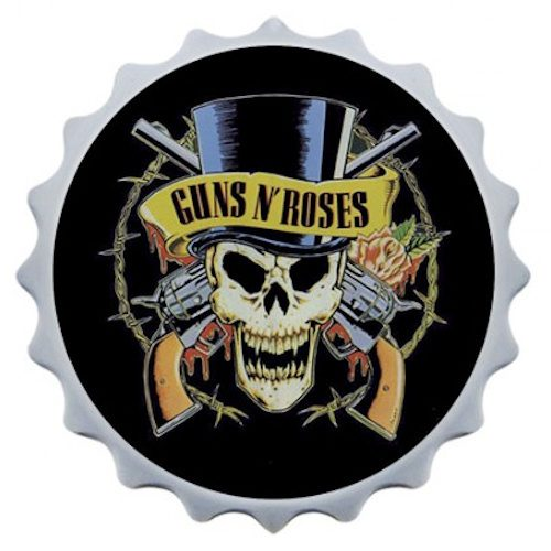 Abridor de garrafa com imã Guns n' Roses II