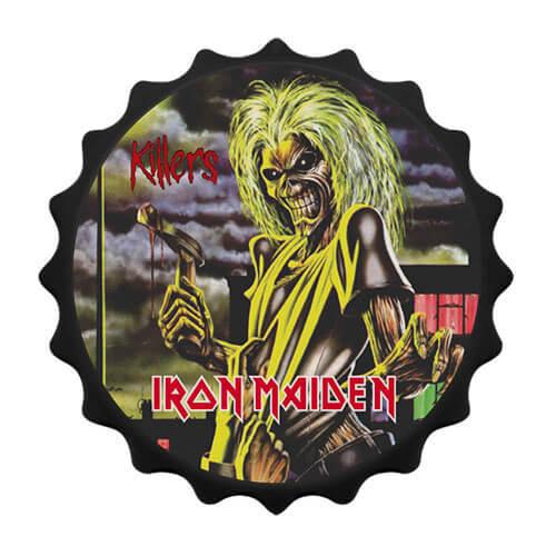 Abridor de garrafa com imã Iron Maiden Killers