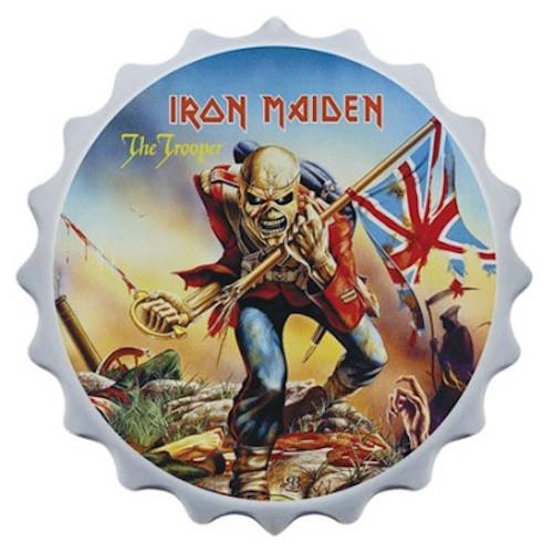 Abridor de garrafa com imã Iron Maiden I