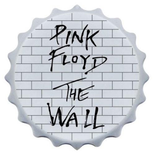 Abridor de garrafa com imã Pink Floyd II