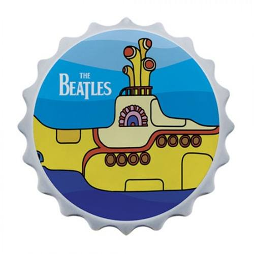 Abridor de garrafa com imã The Beatles Yellow Submarine
