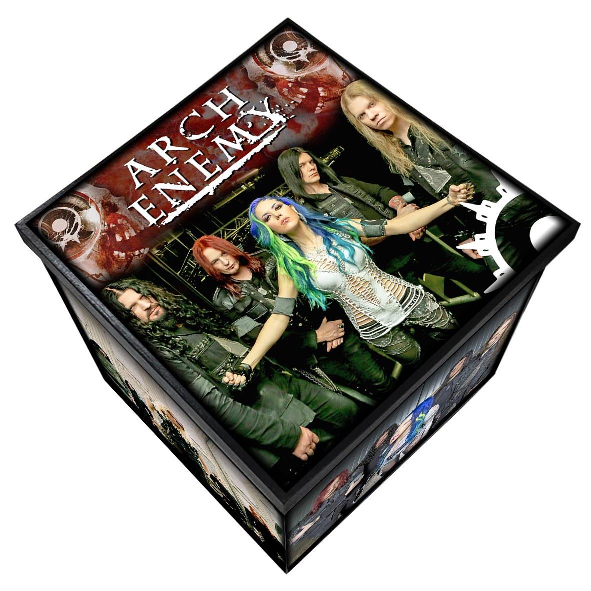 Arch Enemy - Caixa em MDF - Tam. Grande - Mr. Rock