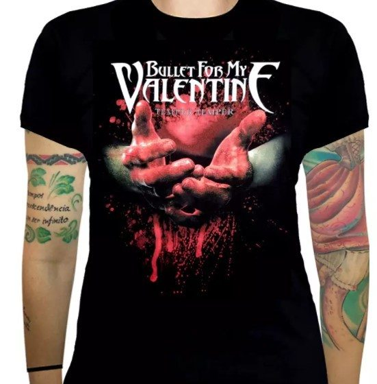 Baby Look Bullet for My Valentine