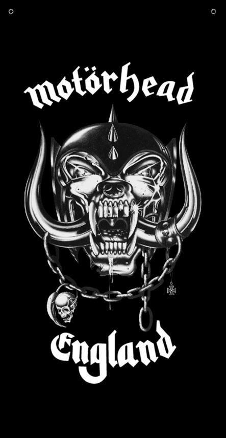 BANDEIRA CAPA - MOTORHEAD - BLACK
