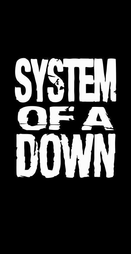 BANDEIRA CAPA - SYSTEM OF A DOWM - BLACK