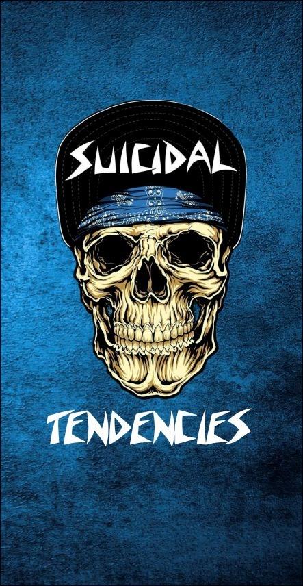 BANDEIRA CAPA - SUICIDAL TENDENCIES - CLASSIC