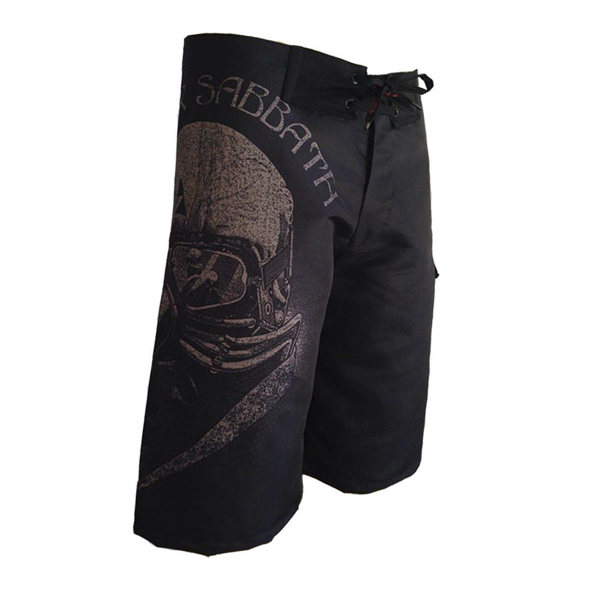 Bermuda Masculina Black Sabbath  - Bloody Hell Wear