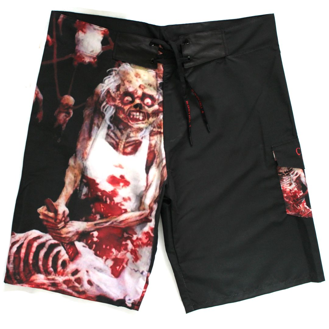 Bermuda Masculina Cannibal Corpse Butchered at Birth  - Bloody Hell Wear