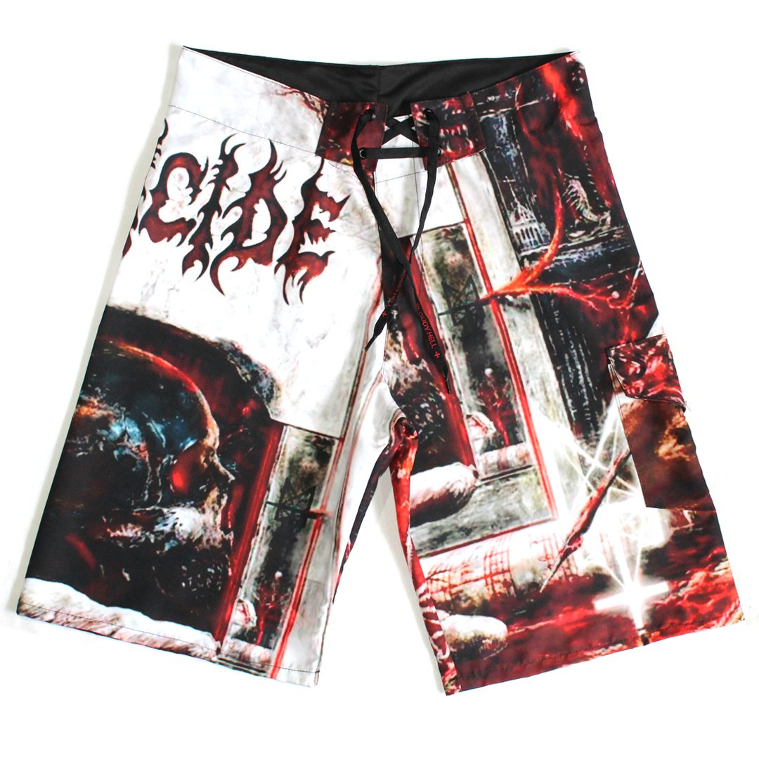 Bermuda Masculina Deicide - Overtures of Blasphemy  - Bloody Hell Wear
