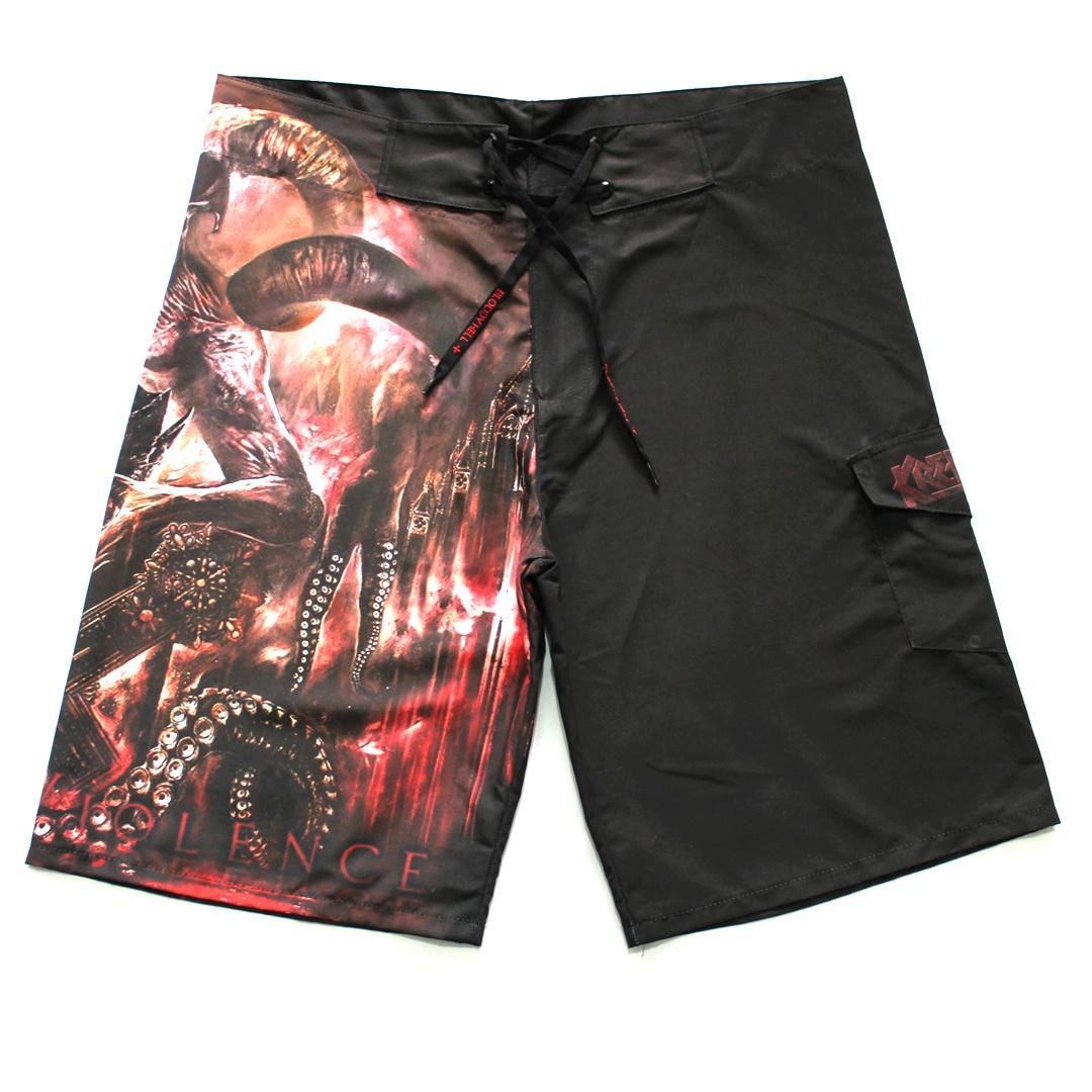 Bermuda Masculina Kreator Gods of Violence  - Bloody Hell Wear