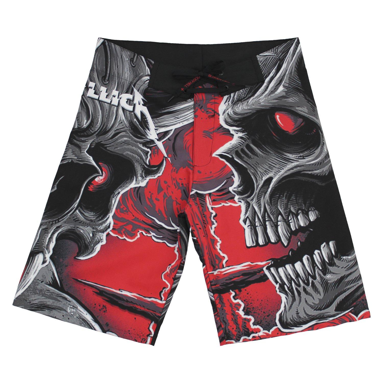 Bermuda Masculina Metallica - Hardwired... to Self-Destruct - Bloody Hell Clothing