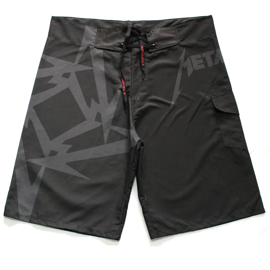 Bermuda Masculina Metallica - Bloody Hell Clothing