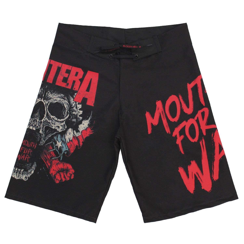 Bermuda Masculina Pantera Mouth for War  - Bloody Hell Wear