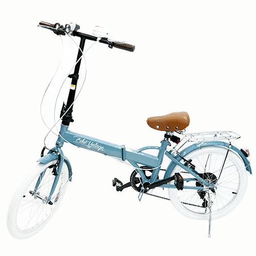 Bicicleta Dobrável Fenix Blue - Kit Marcha Shimano - 6 Velocidades
