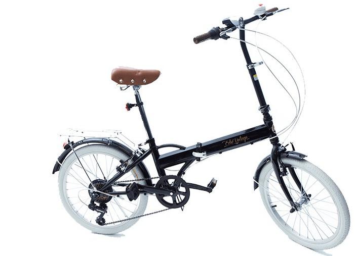 Bicicleta Dobrável Fenix preto - Kit Marcha Shimano - 6 Velocidades