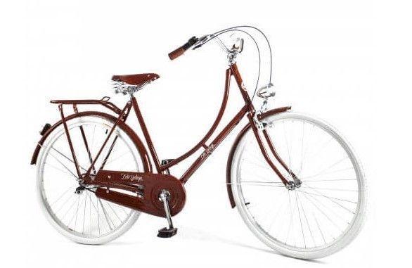 Bicicleta Vintage Retrô Masculina - Ícaro - Plus Dark Wood - Kit Marcha Nexus Shimano - 3 Velocidades