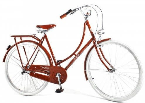 Bicicleta Vintage Retrô Masculina - Ícaro - Plus Light Wood - Kit Marcha Nexus Shimano - 3 Velocidades
