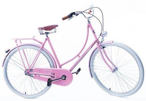 Bicicleta Vintage Retrô Masculina - Ícaro - Plus Rosa Quartzo - Kit Marcha Nexus Shimano - 3 Velocidades
