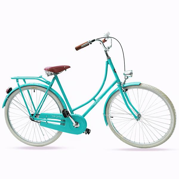 Bicicleta Vintage Retrô - Vênus Green | Masculina Aro 28