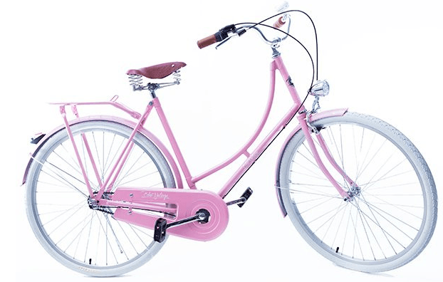 Bicicleta Vintage Retrô - Vênus Rosa - Masculina Aro 26