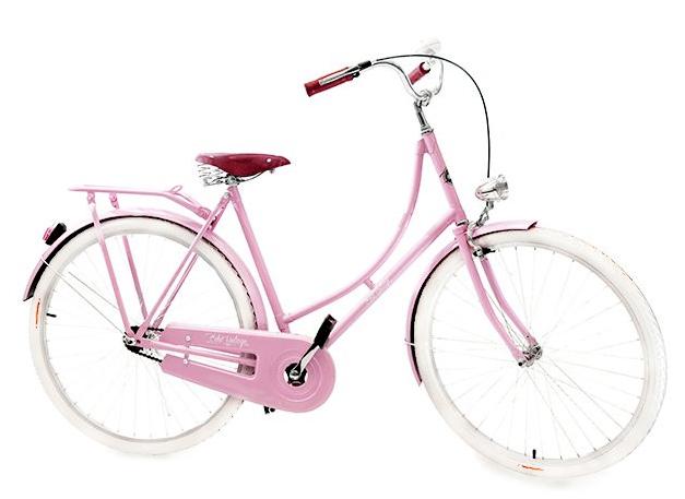 Bicicleta Vintage Retrô - Vênus Rosa - Masculina Aro 28