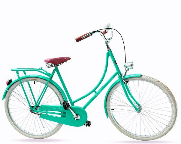 Bicicleta Vintage Retrô - Vênus verde - Masculina Aro 28